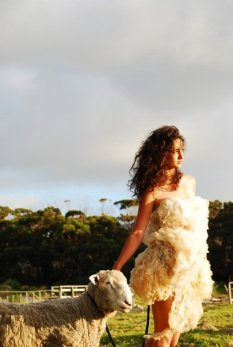 Behind the Scenes Sheep Couture 2