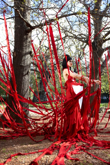 Oak Couture: Photograher: Inge Prins, Conceptualist/Producer: Kelly Wilder Wainwright
