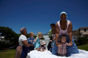 Nannys & Kids in the Park: Photographer: Antonia Steyn, Conceptualist/Producer: Kelly Wilder Wainwright